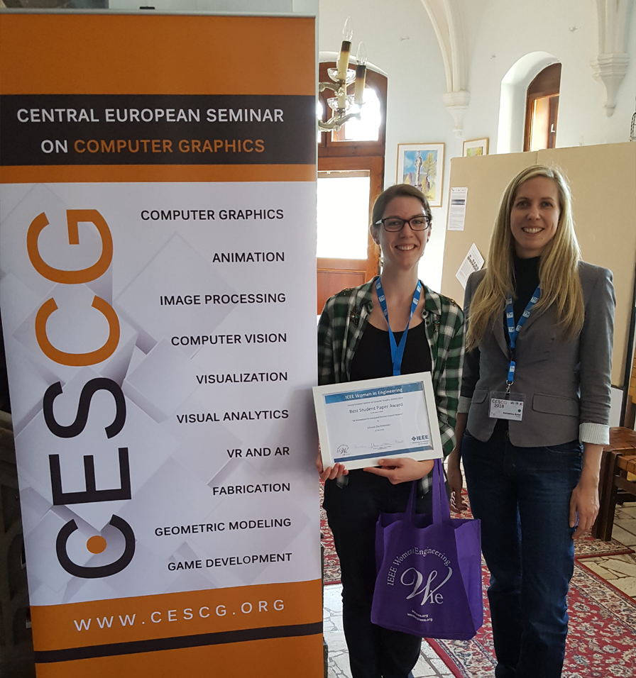 Best Student Paper Award at CESCG
